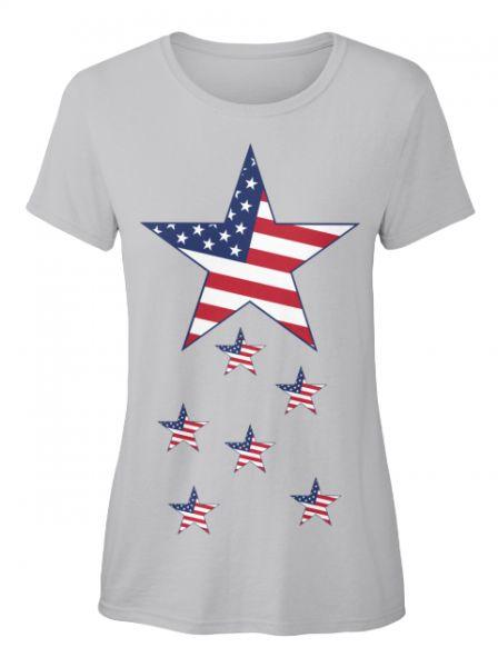 Stars of Amerika ( Verfügbar über Teespring )