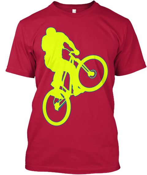 Radfahrer T-Shirt ( Verfügbar über Teespring )