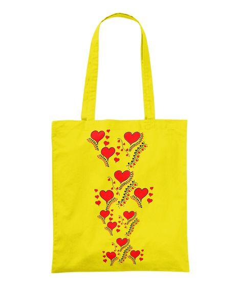 Lovely Hearts Tasche ( Verfügbar über Teespring )