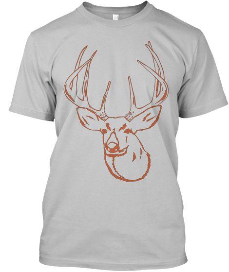 Hirsch T-Shirt ( Verfügbar über Teespring )