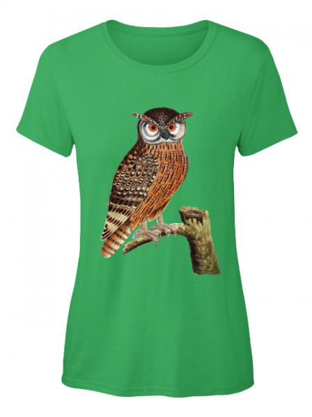 Eule auf dem Ast T-Shirt ( Verfügbar über Teespring )