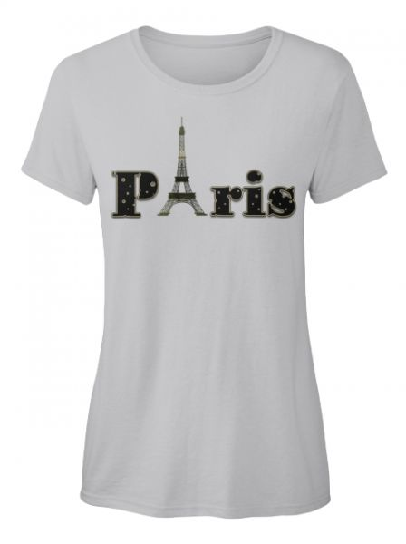 Paris T-Shirt ( Verfügbar über Teespring )