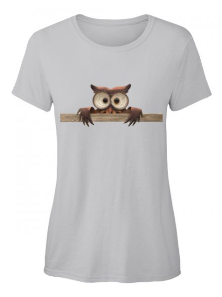 Hallo Eule T-Shirt ( Verfügbar über Teespring )
