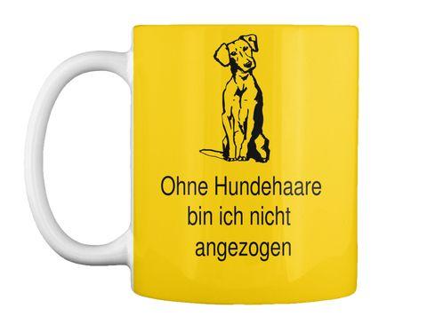 Hundehaare Tasse ( Verfügbar über Teespring )