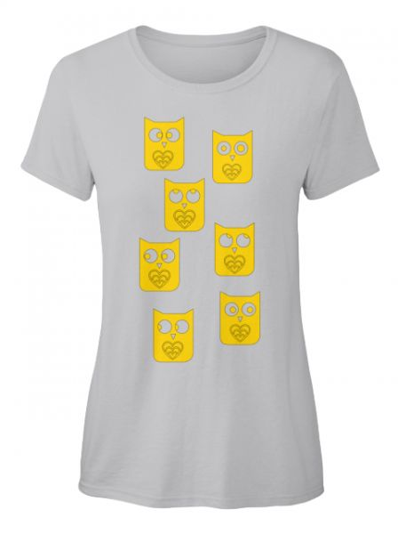 Eulen T-Shirt ( Verfügbar über Teespring )